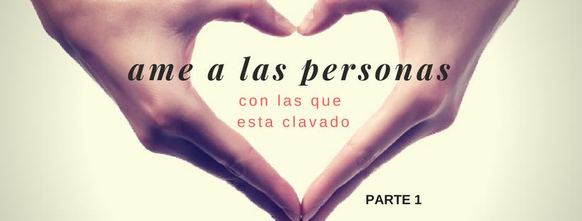 ame a las personas